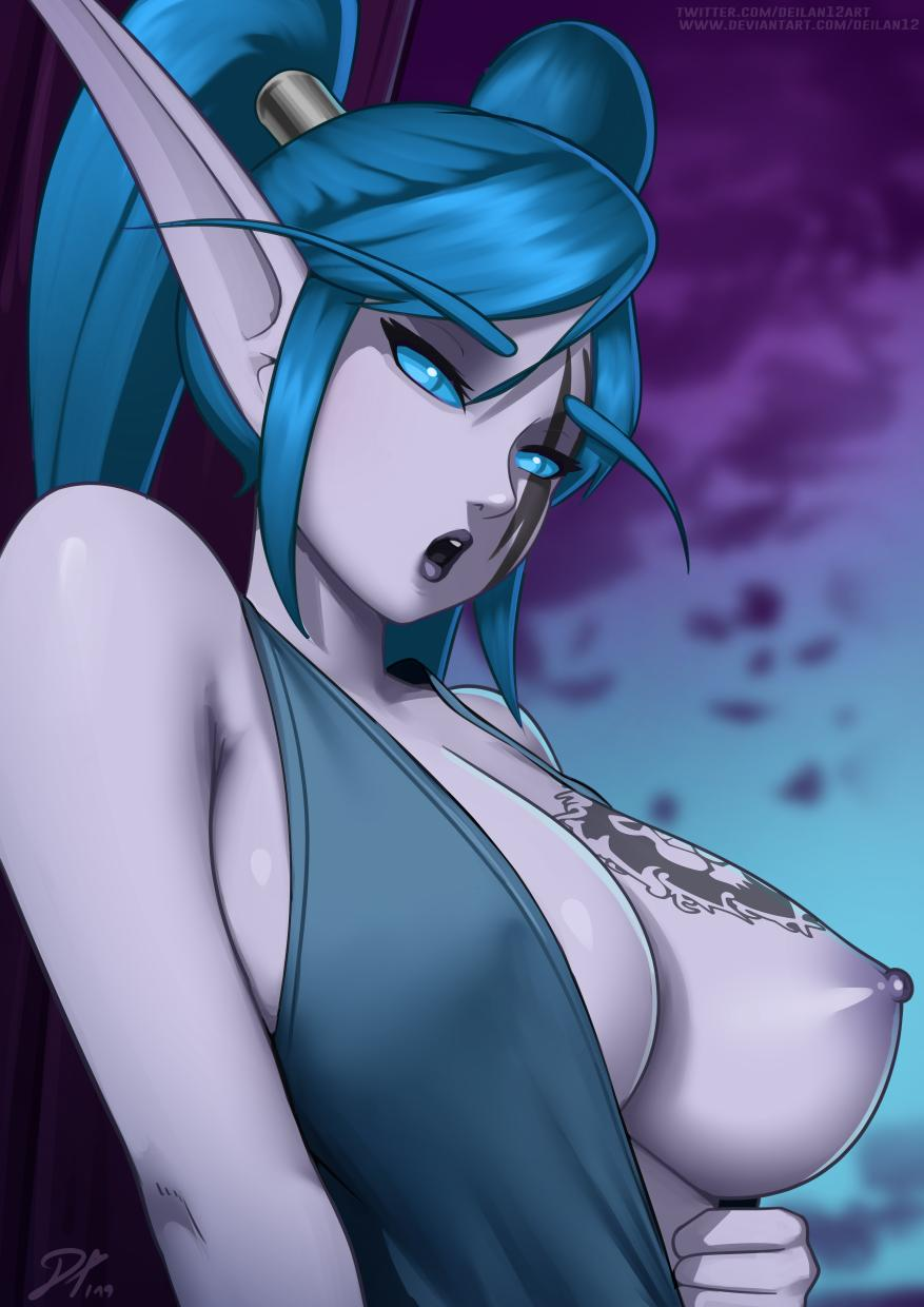 world warcraft elf ears of My little pony tentacle hentai