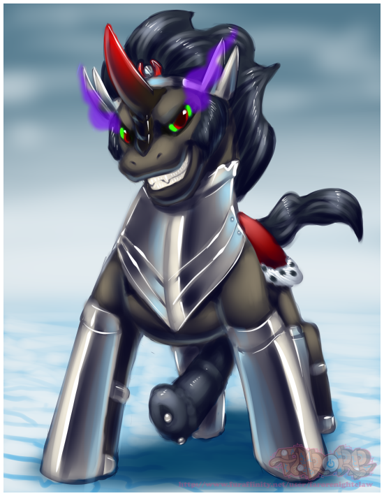 sombra and king pony my little twilight Highschool of the dead alice