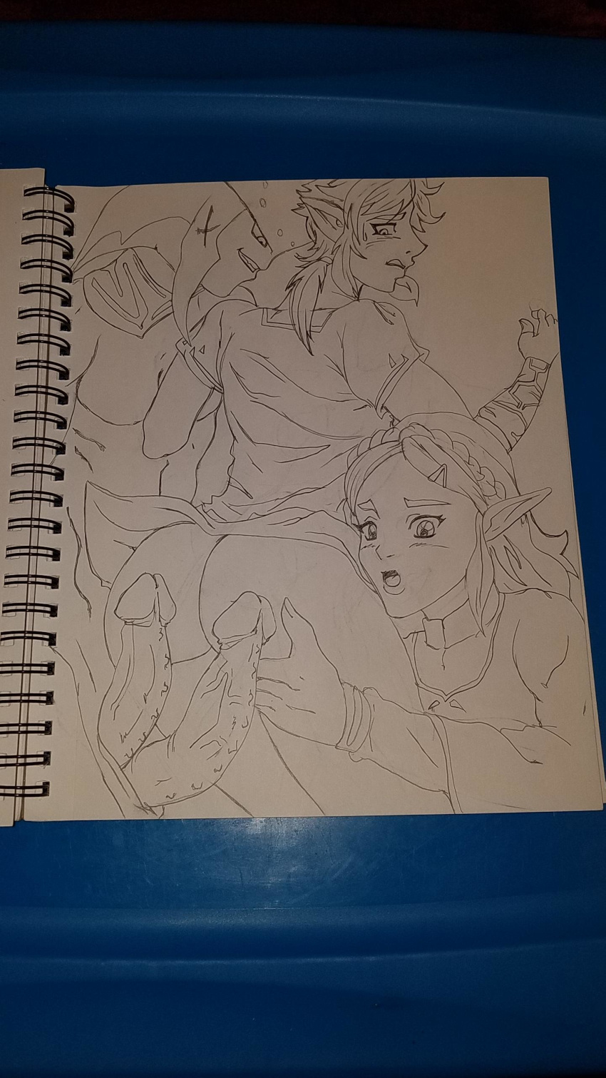 wild the link breath of and mipha Star wars the clone wars comic porn