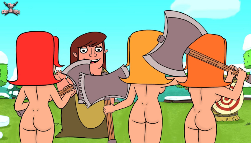 clash of valkyrie clans nude How old is trixie tang