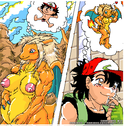 ketchum in underwear ash his Rabies  my mom and sister are size queen sluts