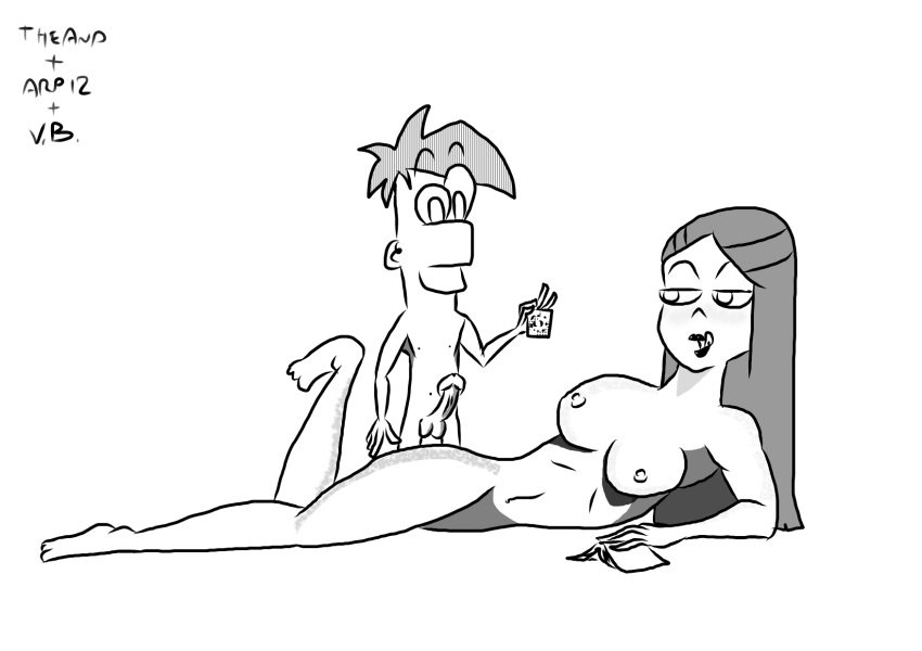 phineas ferb characters and naked The witch of lynx crag